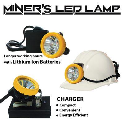 miners led lamp