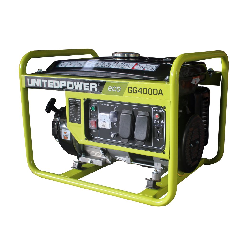United Power Generator Eco Series 4000w Gg4000a Tools From Us Voltmeter Ac Wiring Circuits